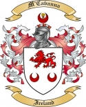 M'Cavanna Family Coat of Arms from Ireland