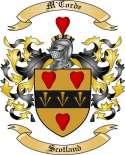 M'Corde Family Crest from Scotland