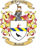 M'Corquodell Family Coat of Arms from Scotland