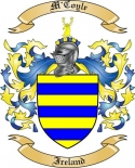 M'Coyle Family Crest from Ireland