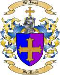 M'Isak Family Crest from Scotland