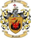 M'Kconil Family Crest from Scotland