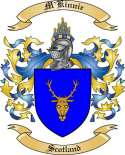 M'Kinnie Family Coat of Arms from Scotland