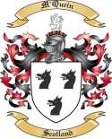 M'Quein Family Crest from Scotland