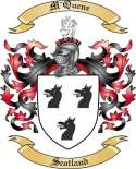 M'Quene Family Crest from Scotland