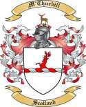 M'Thurkill Family Crest from Scotland