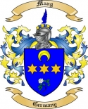 Maag Family Coat of Arms from Germany2