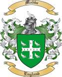 Mabbe Family Coat of Arms from England