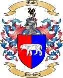 Mabie Family Coat of Arms from Scotland
