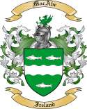 MacAbe Family Crest from Ireland