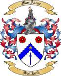 MacAlear Family Coat of Arms from Scotland