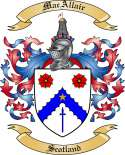 MacAllair Family Coat of Arms from Scotland