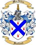 MacAllen Family Coat of Arms from Scotland