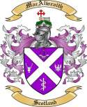 MacAlwraith Family Crest from Scotland2