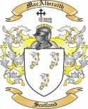 MacAlwraith Family Crest from Scotland