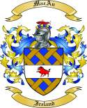 MacAn Family Coat of Arms from Ireland