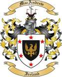 MacAndrew Family Coat of Arms from Ireland