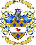 MacAnn Family Crest from Ireland