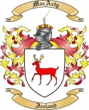 MacArty Family Crest from Ireland2