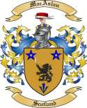 MacAslan Family Coat of Arms from Scotland2