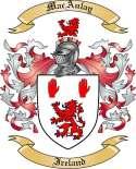 MacAulay Family Coat of Arms from Ireland