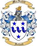 MacAuliff Family Crest from Ireland
