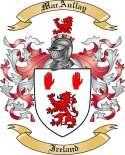 MacAullay Family Coat of Arms from Ireland