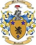 MacAuslan Family Crest from Scotland2