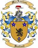 MacAuslane Family Crest from Scotland2