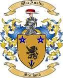 MacAuslin Family Crest from Scotland2