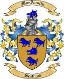 MacAuslin Family Crest from Scotland