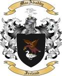 MacAvaddy Family Crest from Ireland