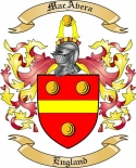 MacAvera Family Crest from England