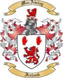 MacAwlay Family Crest from Ireland