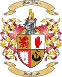 MacBain Family Crest from Scotland