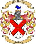 MacBarron Family Crest from Ireland