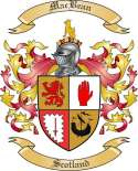 MacBean Family Crest from Scotland