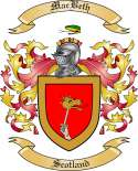 MacBeth Family Crest from Scotland