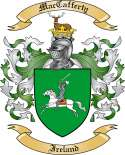 MacCafferty Family Crest from Ireland