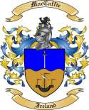 MacCaffie Family Crest from Ireland