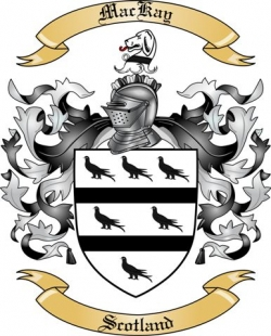 Mackay Family Crest From Scotland By The Tree Maker