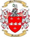 Mac Adarmid Family Crest from Scotland