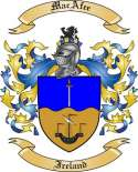 Mac Afee Family Crest from Ireland