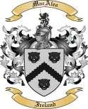 Mac Alea Family Crest from Ireland