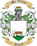 Mac Alinion Family Coat of Arms from Ireland