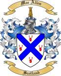 Mac Allen Family Coat of Arms from Scotland