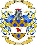 Mac An Family Crest from Ireland