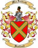 Mac Andrew Family Coat of Arms from Scotland