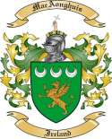 Mac Aonghuis Family Crest from Ireland