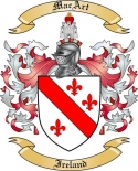 Mac Art Family Coat of Arms from Ireland